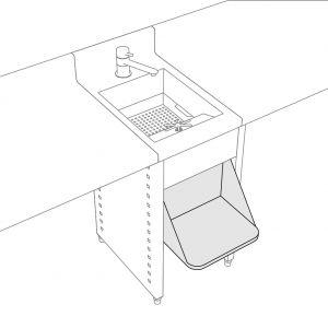 Distributeur de boissons réfrigérées 1x8L