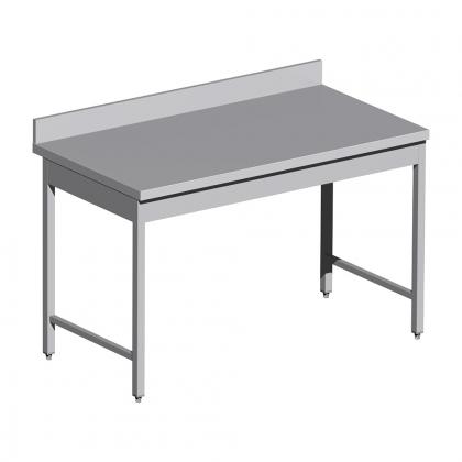 Table adossée standard