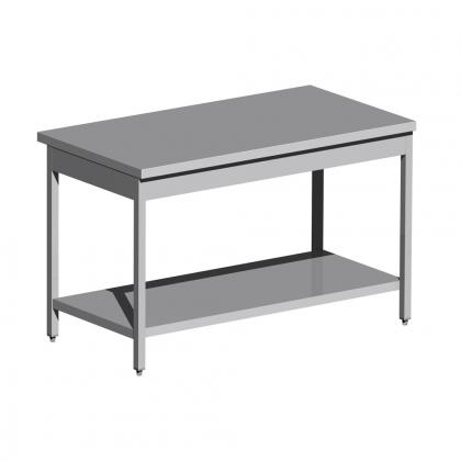 Table centrale inox sur mesure