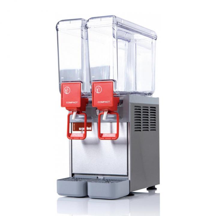 Distributeur de boissons réfrigérées 2x8L Ugolini