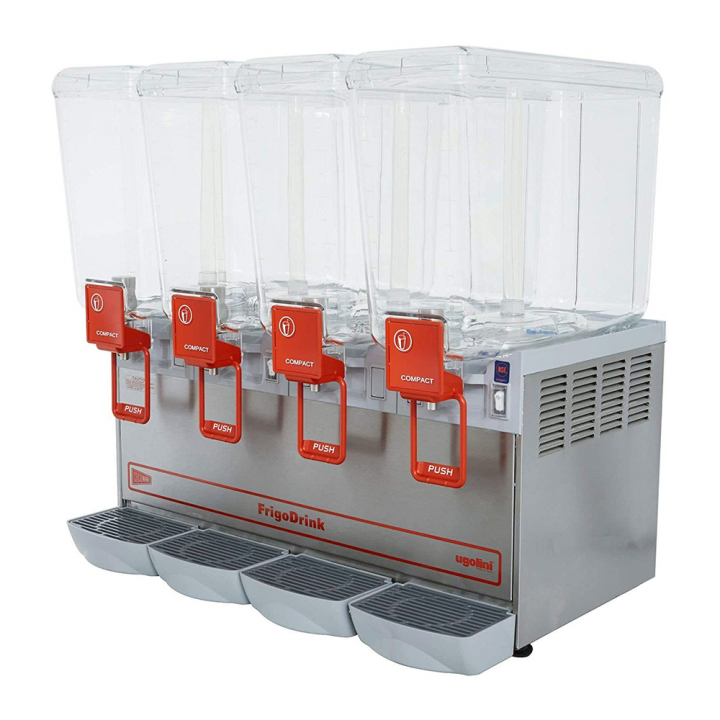 Distributeur de boissons réfrigérées 4x8L Ugolini