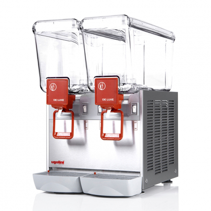 Distributeur de boissons réfrigérées 2x12L Ugolini