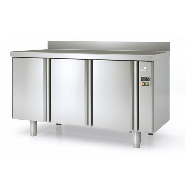 Arrière-bar réfrigéré 504L portes pleines sans groupe, Coreco