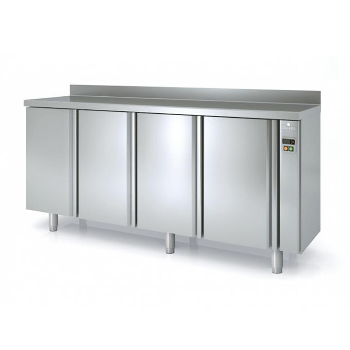 Arrière-bar réfrigéré 684 L portes pleines sans groupe, Coreco
