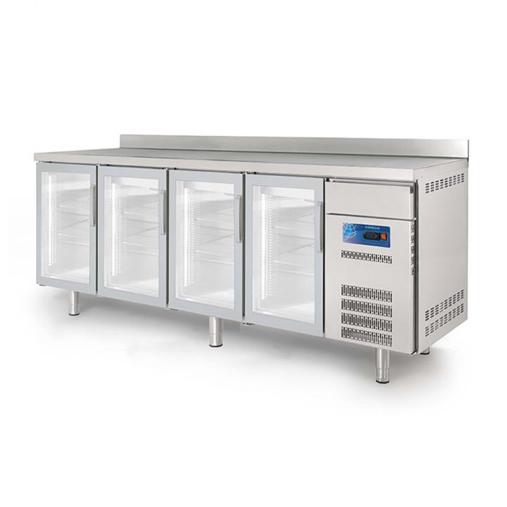 Arrière-bar réfrigéré 740L portes vitrées CORECO