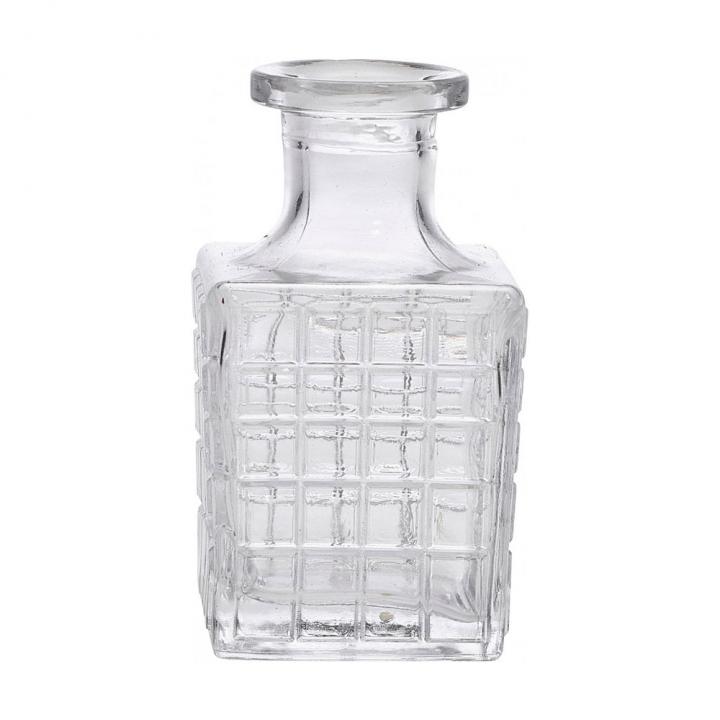 Bouteille à Bitters 100 ml en verre ciselé
