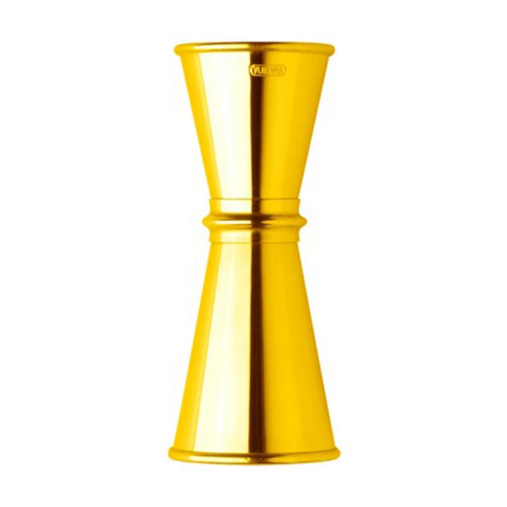 Jigger Yukiwa 15/30 ml finition or jaune