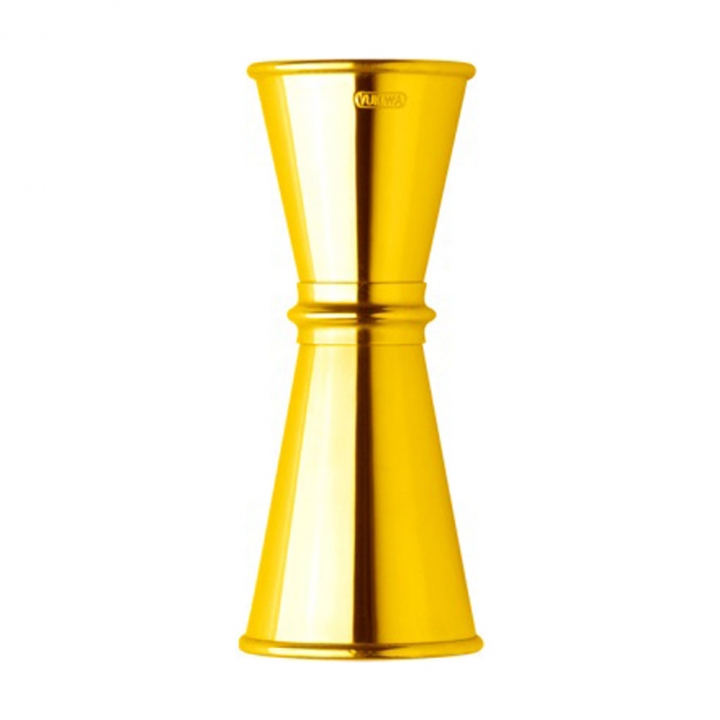 Jigger Yukiwa 30/45 ml finition or jaune