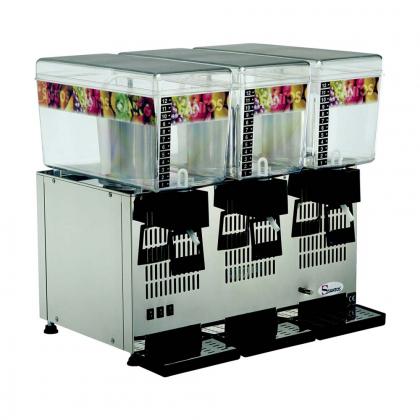 Distributeur de boissons réfrigérées 3x12L