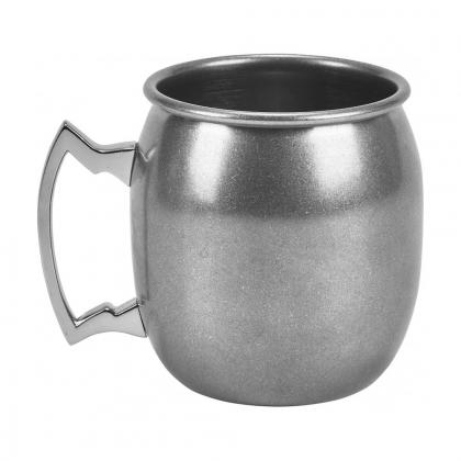 Barrel Mug 400 ml en inox finition mat