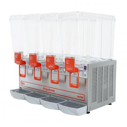 Distributeur de boissons froides 4x12L