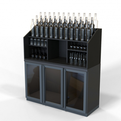 Arriere bar mobile