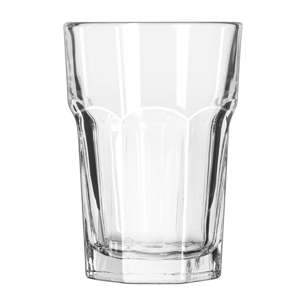 Store n pour standard 1L en plastique transparent, bec et bouchon oranges