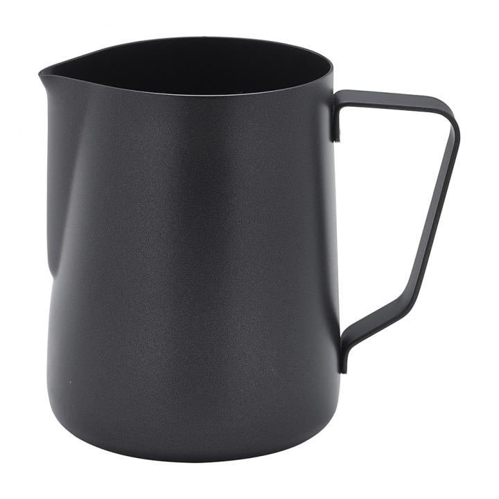 Pot à lait 340 ml noir avec anse