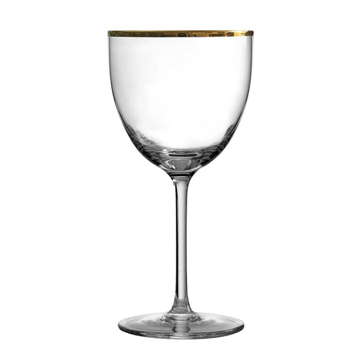 "Verre à cocktail 170 ml ""Nick & Nora"" Gold Rim"