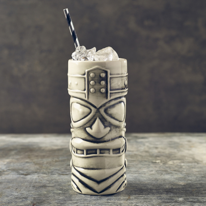 Verre Tiki 400 ml blanc