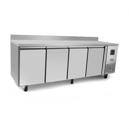 Table réfrigérée 480 L avec dosseret, Atosa