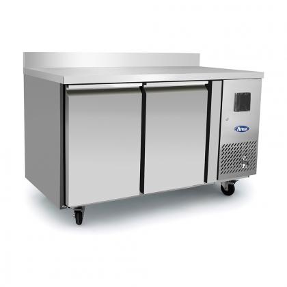 Table réfrigérée 240 L avec dosseret, Atosa