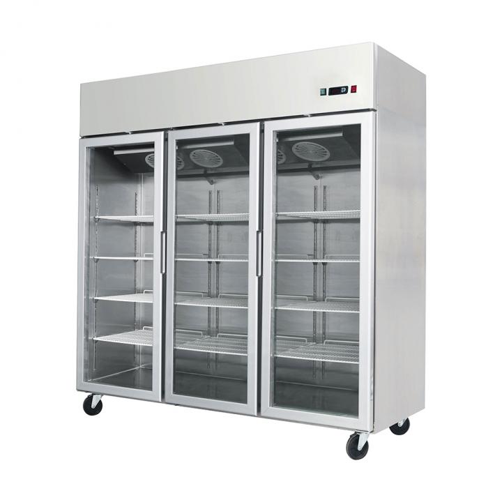Armoire frigorifique vitrée 1390 L, Atosa