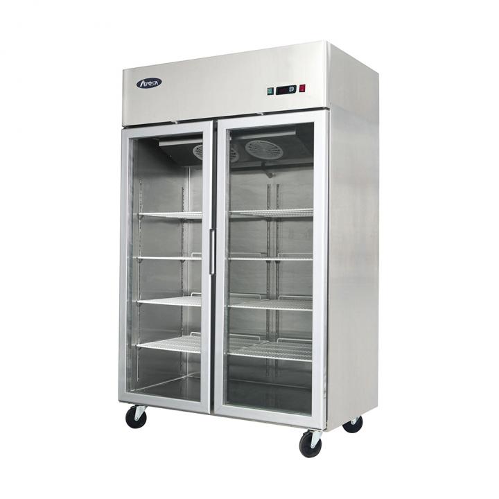 Armoire frigorifique vitrée 900 L, Atosa