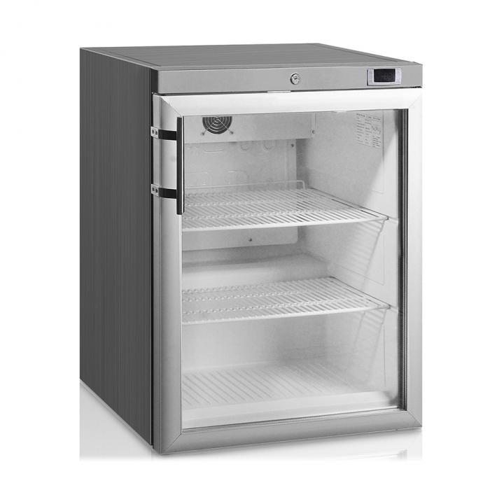Mini armoire-congelateur 145 L blanche porte vitrée, Crystal Line