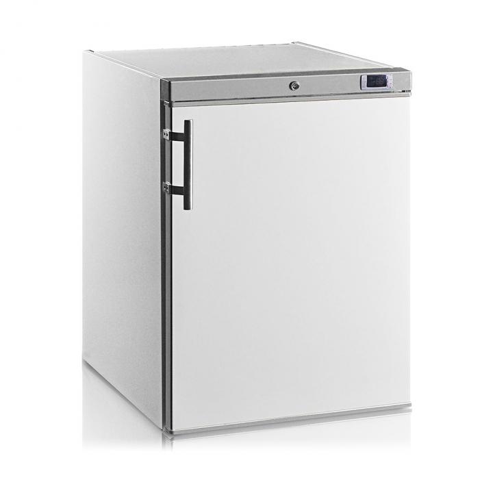 Mini armoire-congélateur 145 L blanche porte pleine, Crystal Line