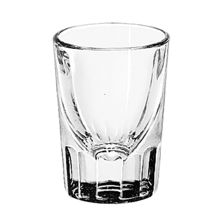 Verre Shot 44 ml Fluted Whiskey, Libbey