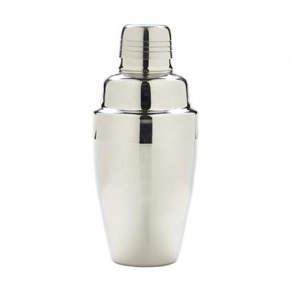 Shaker 3 pièces 350 ml en inox poli