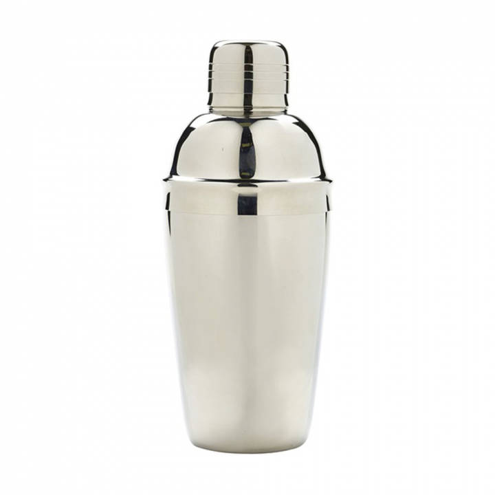 Shaker 3 pièces 500 ml finition inox poli
