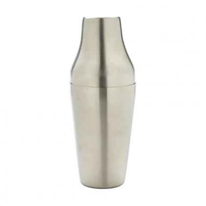 Shaker Parisien 600 ml en inox brossé