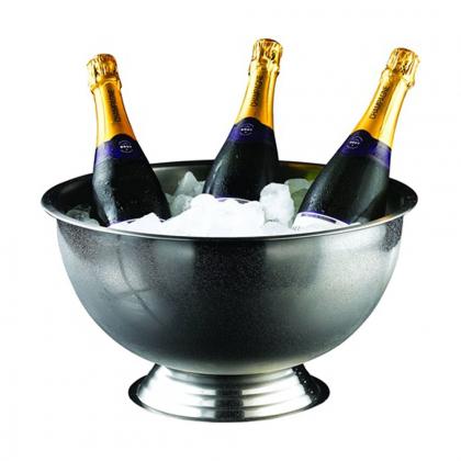 Vasque à Champagne 13 L en inox poli