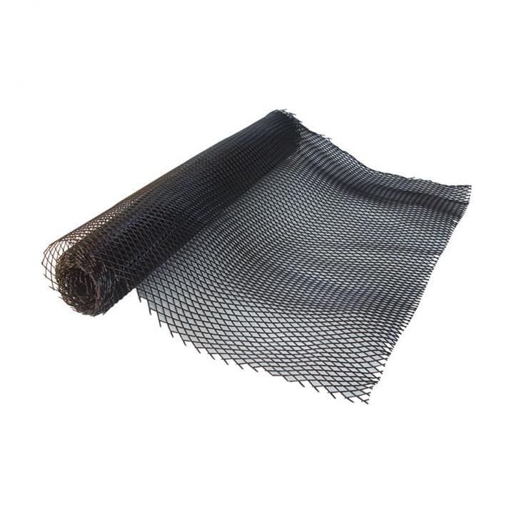 Shelf liner en plastique noir, rouleau de 3000 X 600 mm