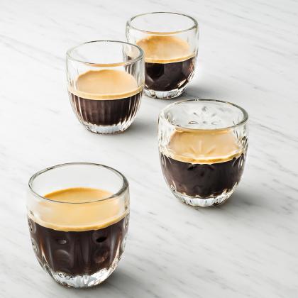 Pack de 4 Tasses à Café assorties Troquet 100ml, La Rochère